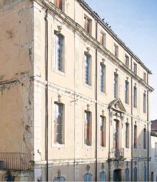 En rénovation : hotel de Pérussis à Cavaillon